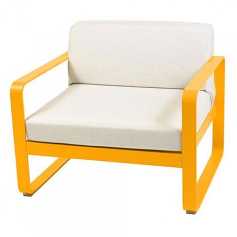 fauteuil bellevie fermob miel