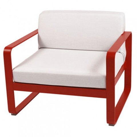 fauteuil bellevie fermob piment