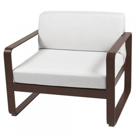 fauteuil bellevie fermob rouille