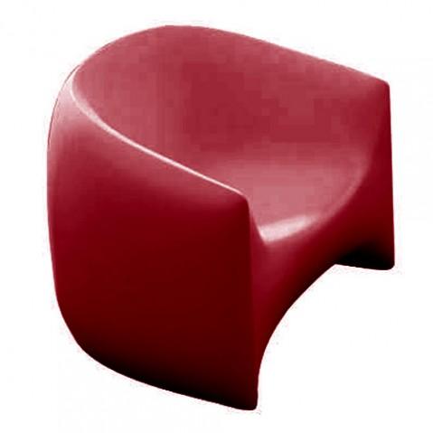 fauteuil blow vondom rouge