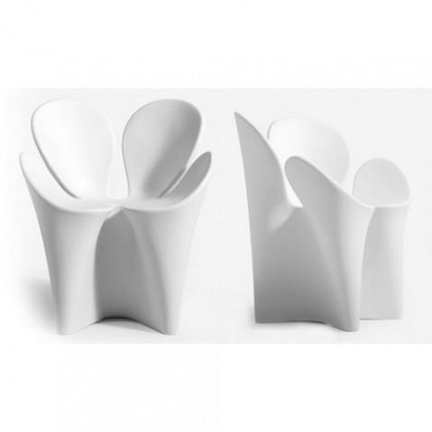 Clover Fauteuil Design Driade Blanc