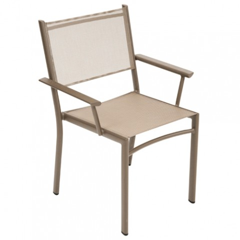 fauteuil costa fermob muscade