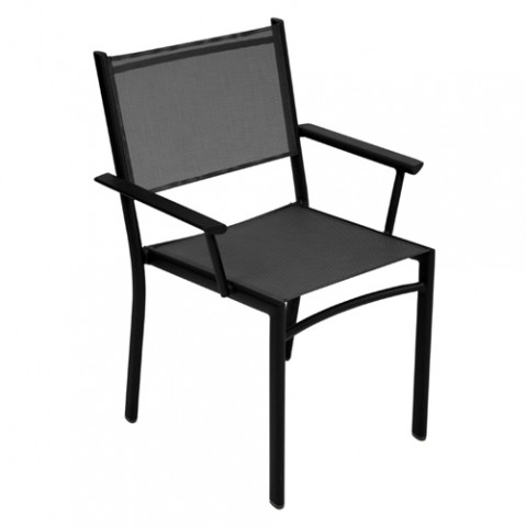 fauteuil costa fermob reglisse
