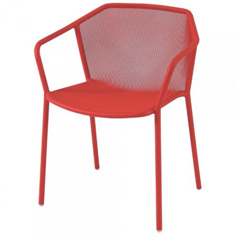 fauteuil darwin emu rouge