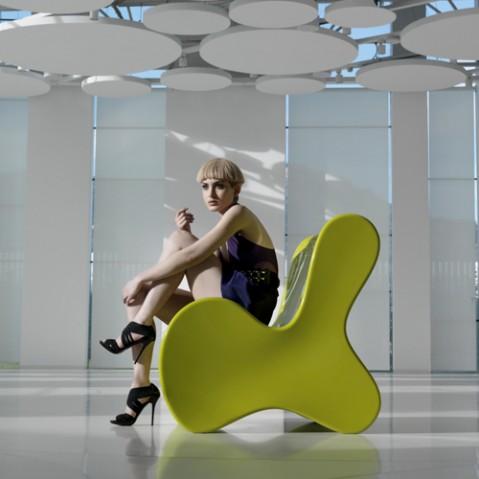 fauteuil doux vondom gris
