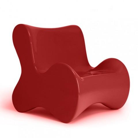 fauteuil doux vondom rouge