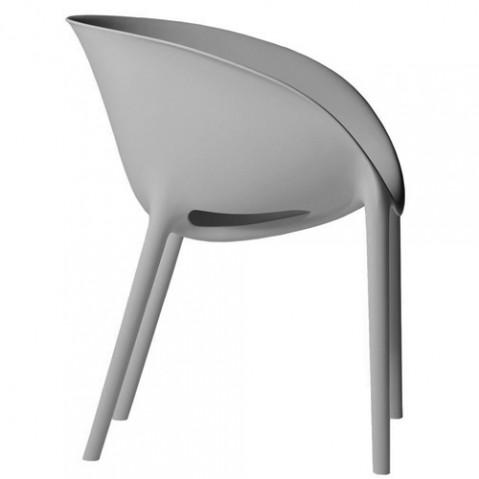 fauteuil soft egg driade gris