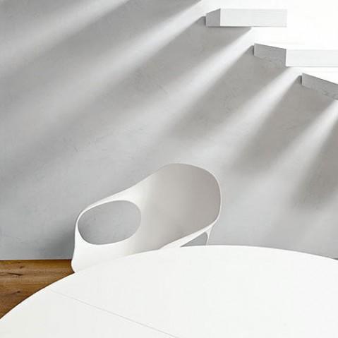 fauteuil elephant 4 pieds kristalia blanc