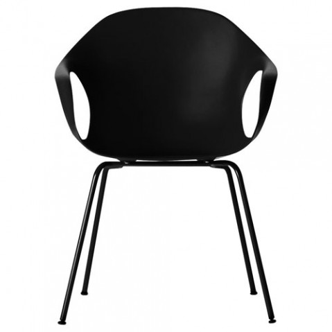 fauteuil elephant 4 pieds kristalia noir