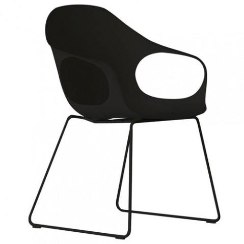 fauteuil elephant luge kristalia noir