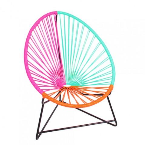 fauteuil enfant chiquita boqa fuchsia