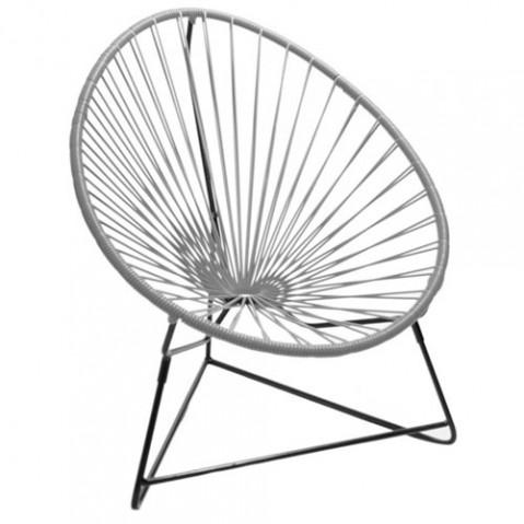 fauteuil enfant chiquita boqa gris