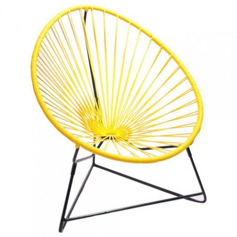 fauteuil enfant chiquita boqa jaune