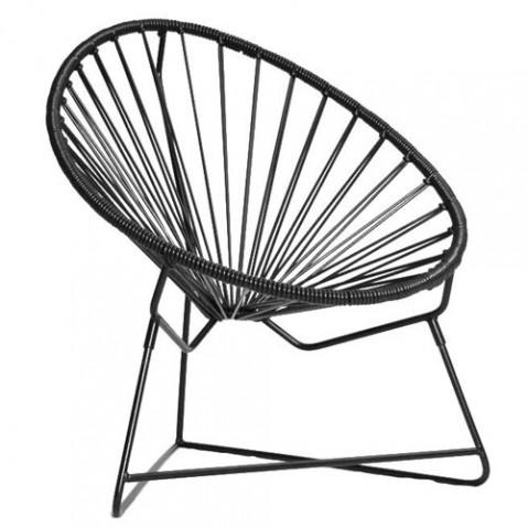 fauteuil enfant chiquita boqa noir