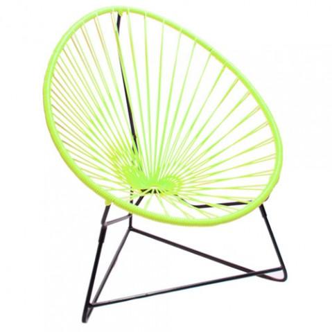 fauteuil enfant chiquita boqa vert anis