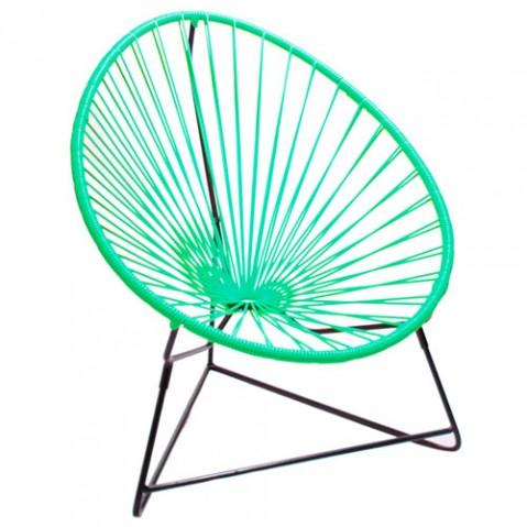 fauteuil enfant chiquita boqa vert turquoise