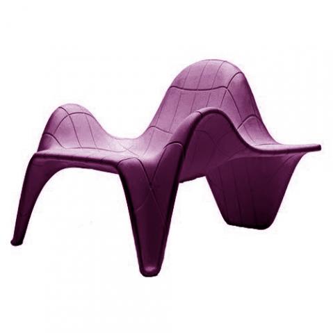 fauteuil f3 vondom prune