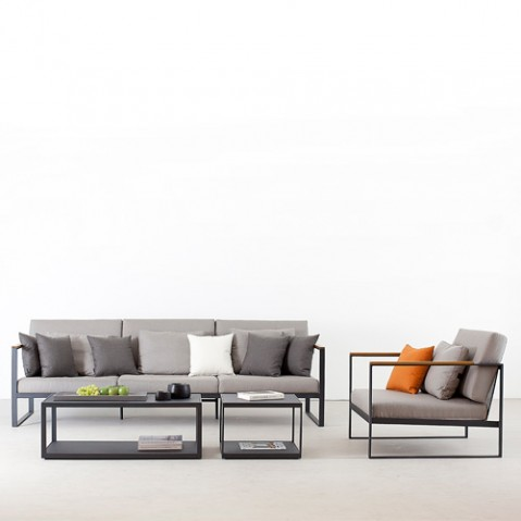 canape 2 places garden easy roshults taupe