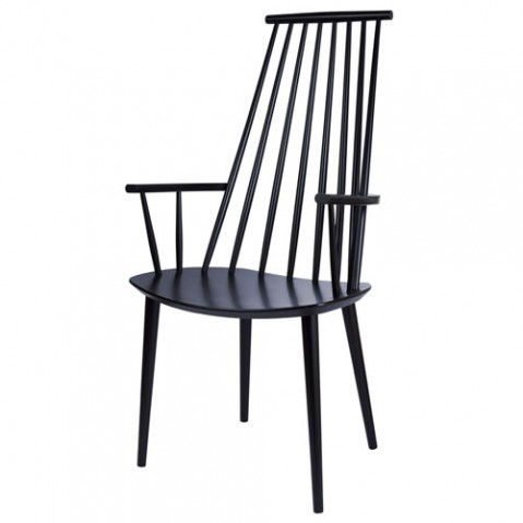 fauteuil j110 hay noir