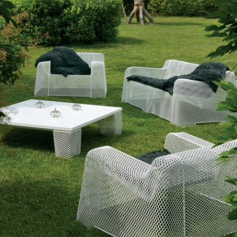 fauteuil lounge ivy emu blanc