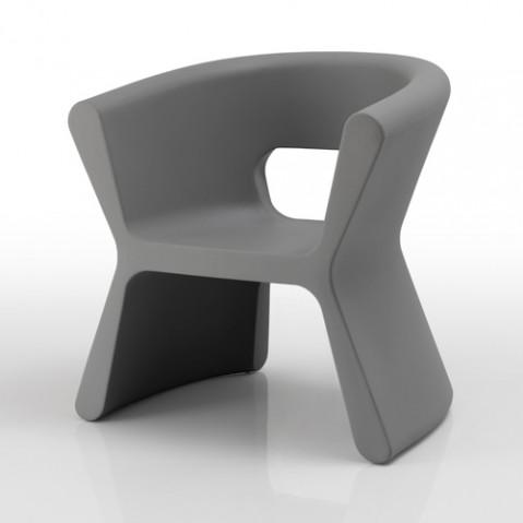 fauteuil pal vondom gris