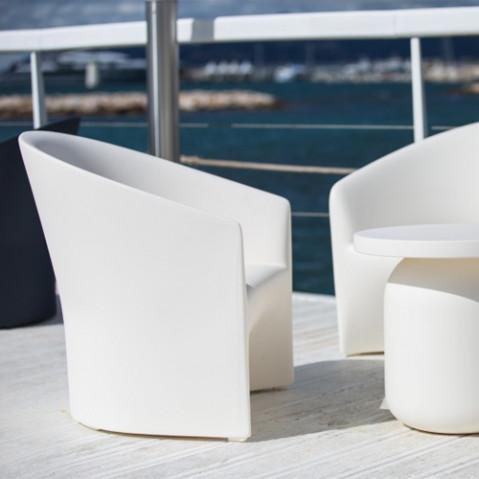 fauteuil pine beach serralunga blanc