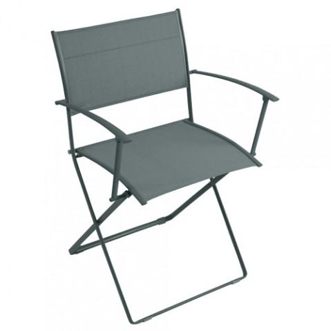 fauteuil plein air fermob gris orage