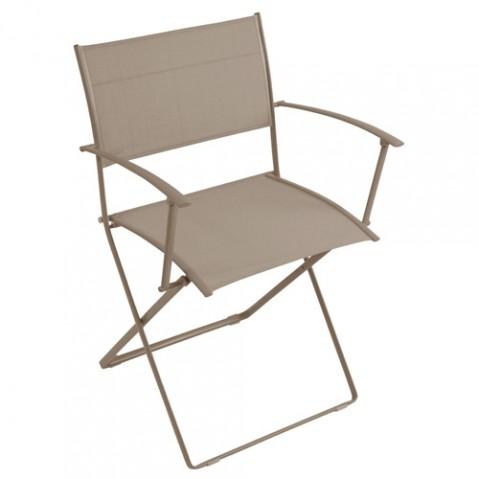 fauteuil plein air fermob muscade