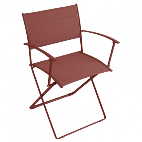 fauteuil plein air fermob piment