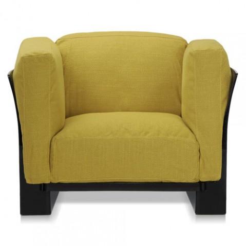fauteuil pop duo kattell noir vert