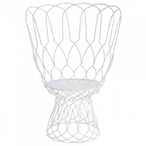 fauteuil re trouve emu blanc