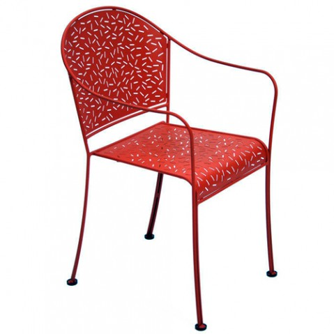 fauteuil rendez vous fermob piment