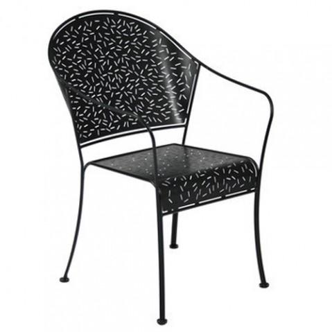 fauteuil rendez vous fermob noir