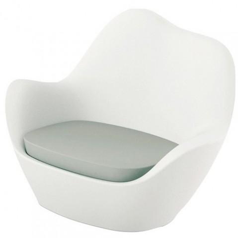 fauteuil sabinas vondom blanc