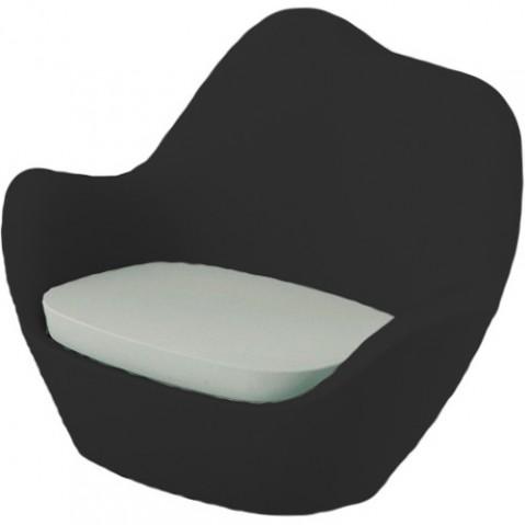 fauteuil sabinas vondom noir