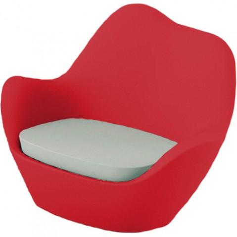 fauteuil sabinas vondom rouge