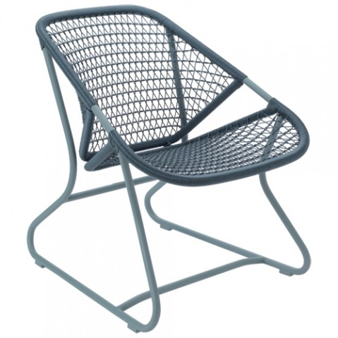 fauteuil sixties fermob gris orage