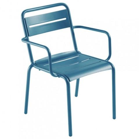 fauteuil star emu bleu