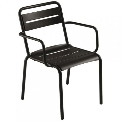 fauteuil star emu noir