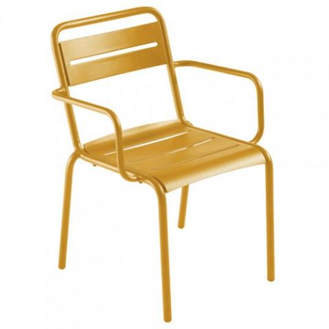 fauteuil star emu orange