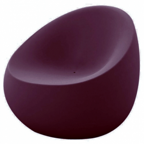 fauteuil stone vondom prune
