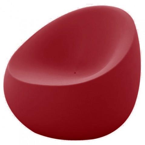 fauteuil stone vondom rouge