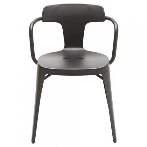 fauteuil t14 tolix noir