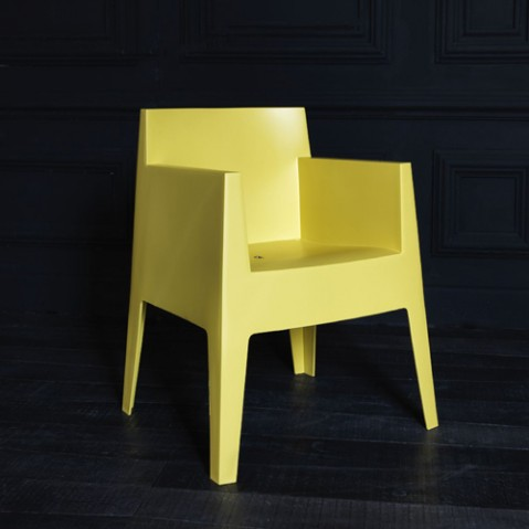 fauteuil toy driade moutarde