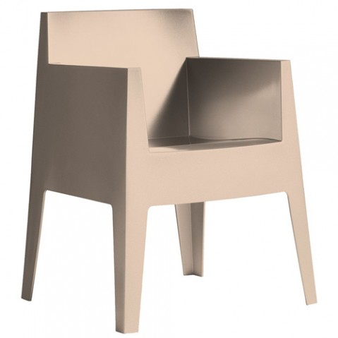 fauteuil toy driade beige
