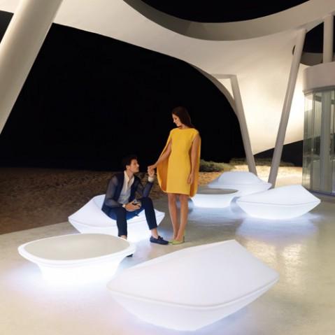fauteuil ufo vondom blanc laque