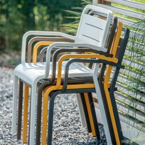 fauteuil urban emu marron