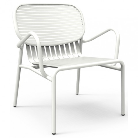 fauteuil week end petite friture blanc