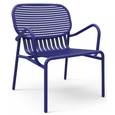 fauteuil week end petite friture bleu