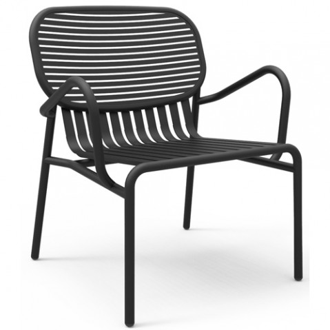 fauteuil week end petite friture noir